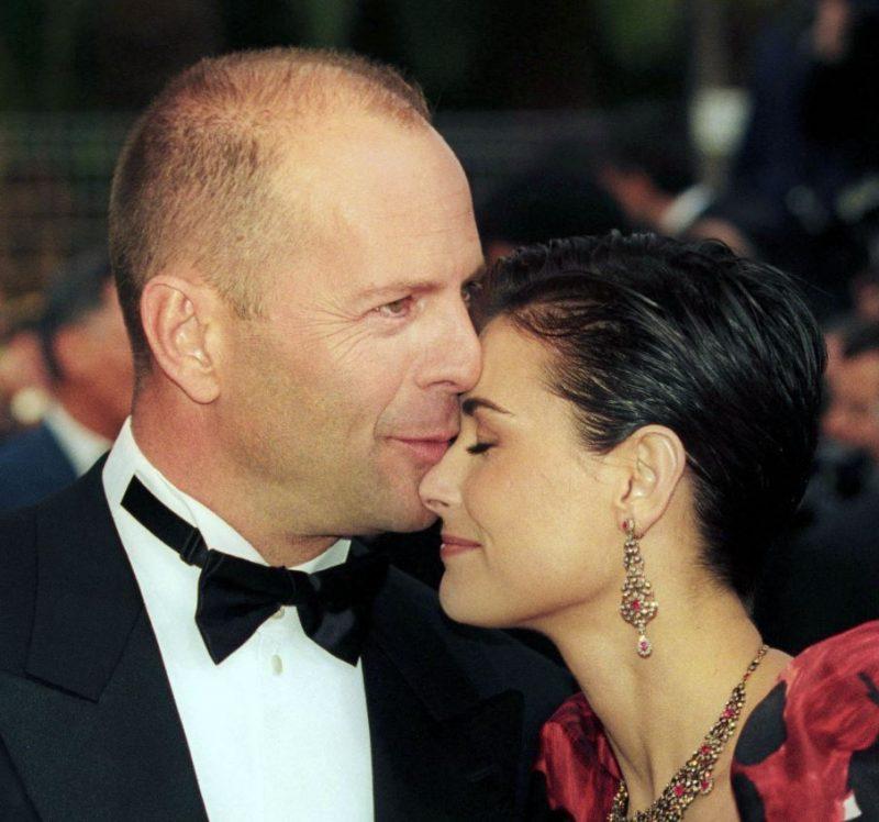 Demija Mūra un Brūss Viliss 2007.gadā – vēl laimīgs pāris.
