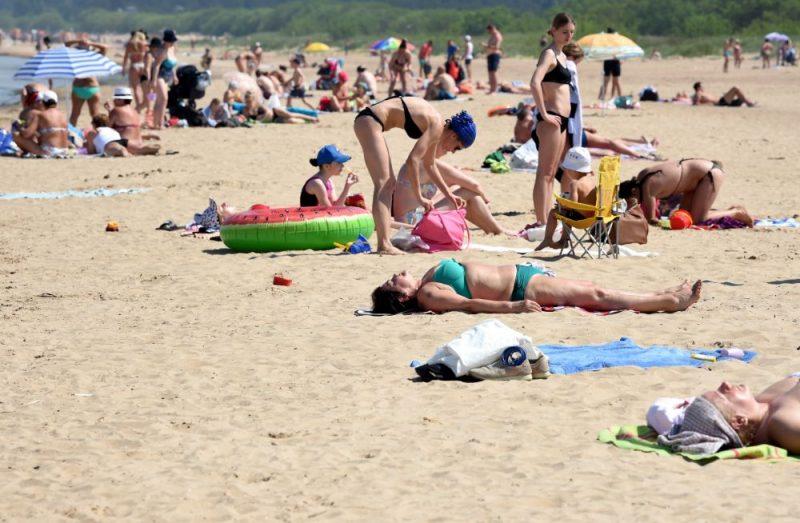 Atpūta Vecāķu pludmalē