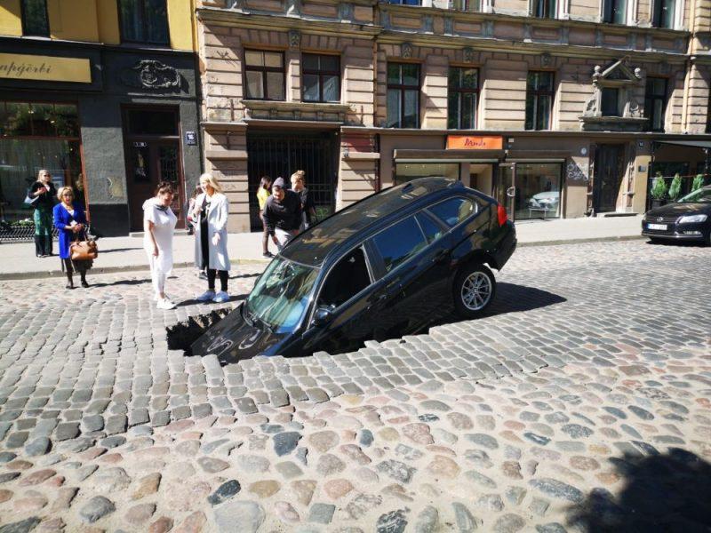 Negadījums Ģertrūdes ielā