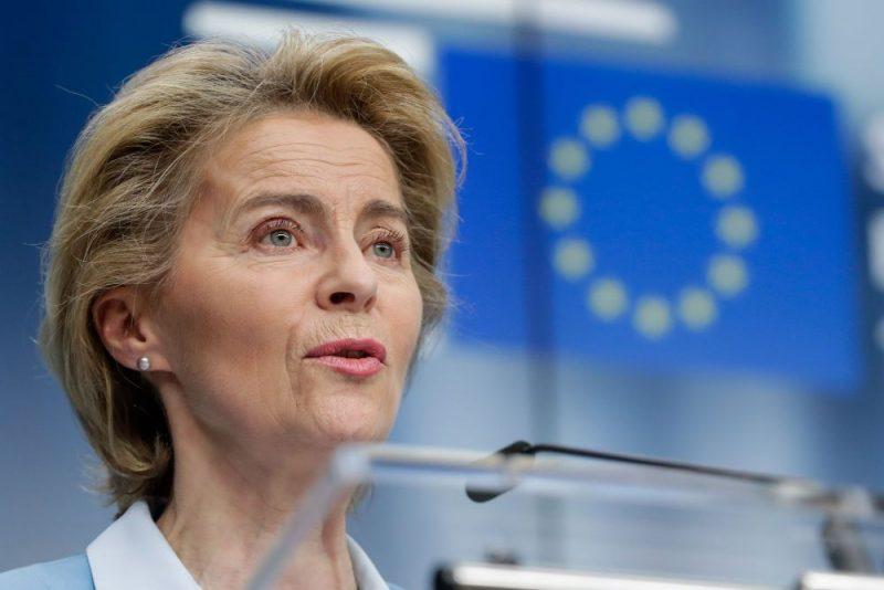Eiropas Komisijas priekšsēdētāja Urzula fon der Leiena