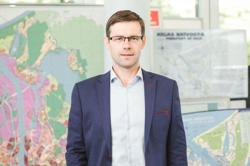 Rīgas brīvostas valdes priekšsēdētājs Viesturs Zeps