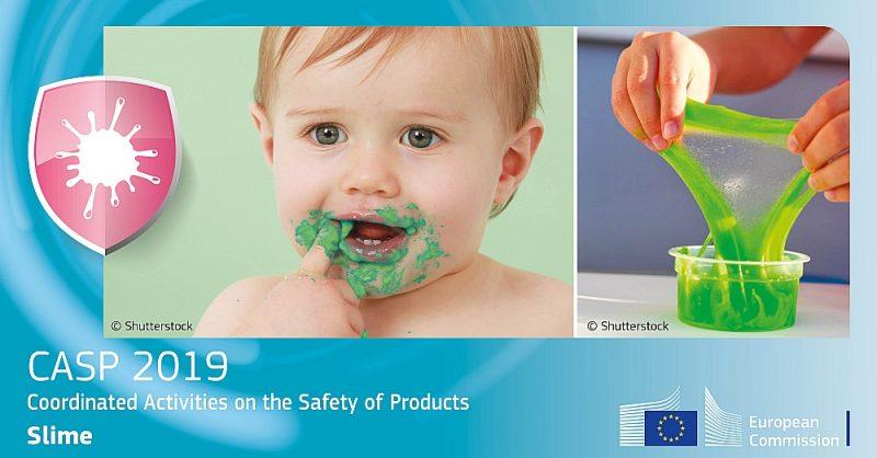 Eiropas Komisija ar šādiem baneriem sociālo tīklu vietnēs aicina uz vienotu rīcību rotaļlietu drošuma izvērtēšanā.