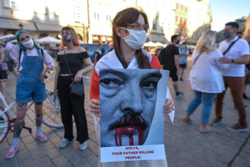Ceturtā protesta diena Baltkrievijā