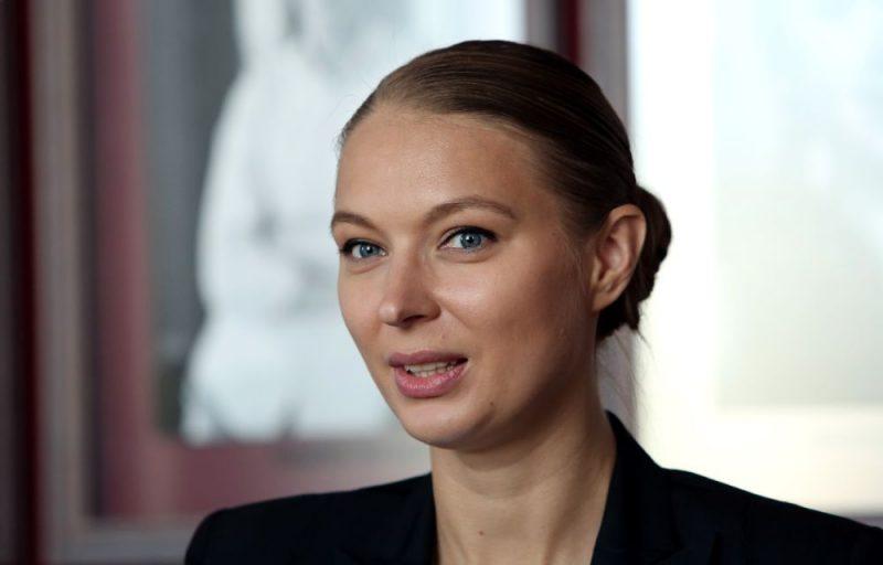 Mihaila Čehova Rīgas Krievu teātra direktore Dana Bjorka.