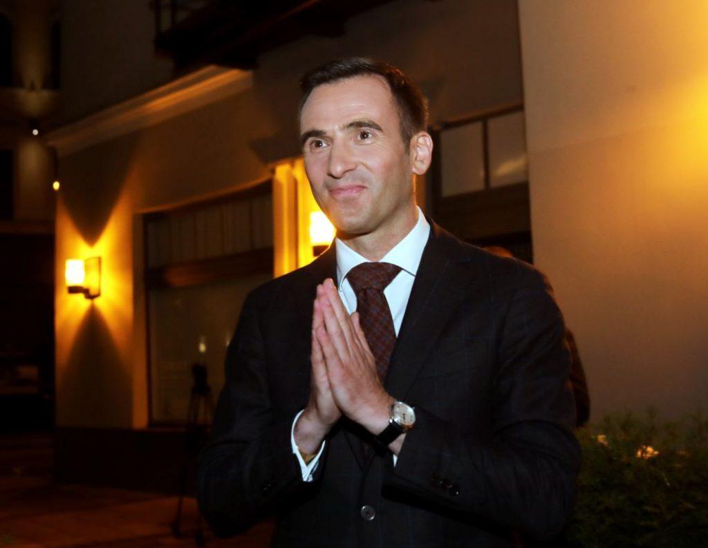 Rīgas domes mēra kandidāts Mārtiņš Staķis.