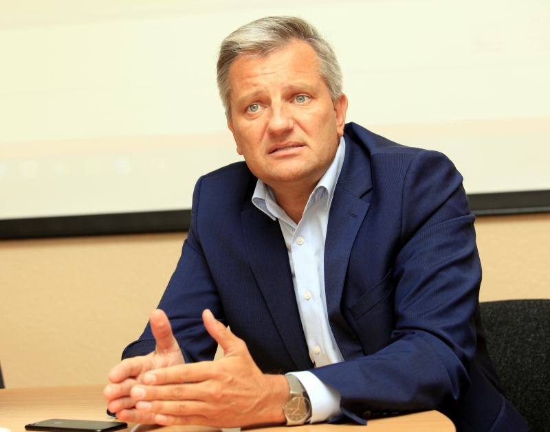 """""""E-piim"""" valdes priekšsēdētājs Jānuss Murakass"""