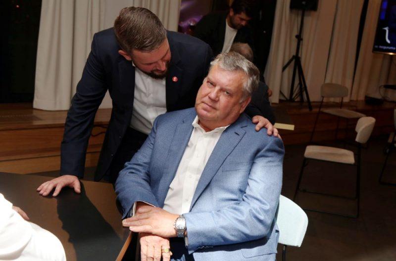 """Partijas """"Saskaņa"""" Rīgas domes ārkārtas vēlēšanu rezultātu gaidīšanas pasākums"""