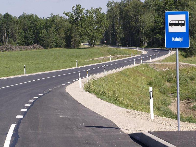 Ceļš no Tukuma uz Kuldīgu (P121).