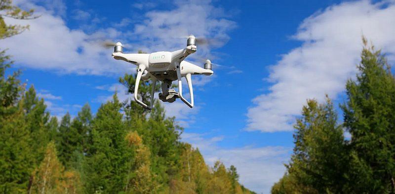 VMD iegādājis arī vairākus dronus, kas no gaisa analizē situāciju ugunsgrēka laikā.