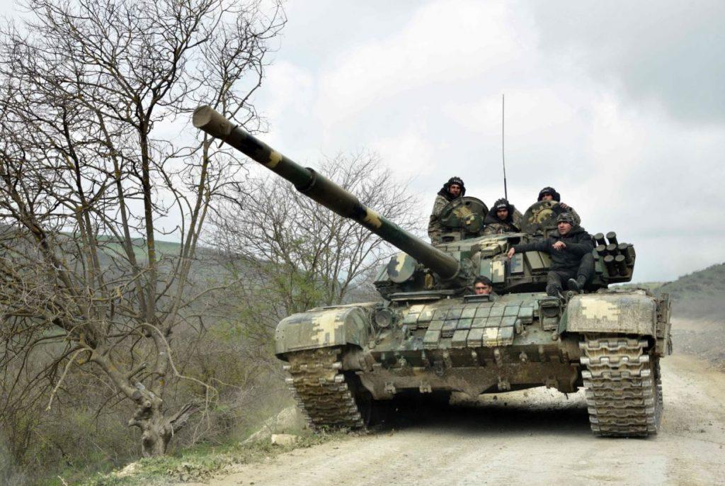 Militārie spēki Karabahā.