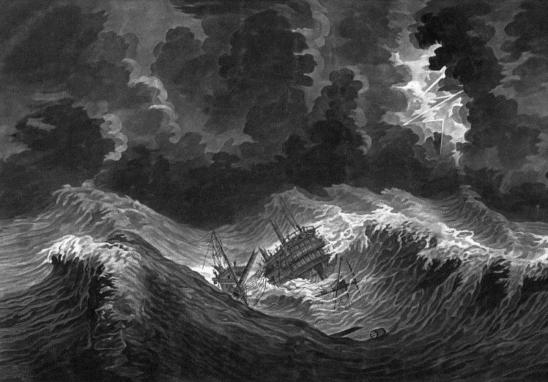 """""""Lielā Antiļu viesuļvētra""""."""