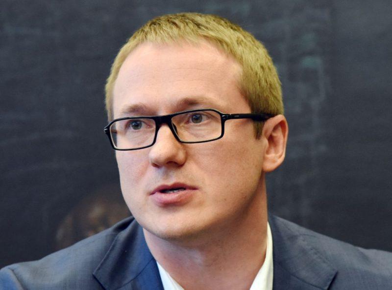 """""""Swedbank"""" Klientu servisa pārvaldes vadītājs Vadims Frolovs."""