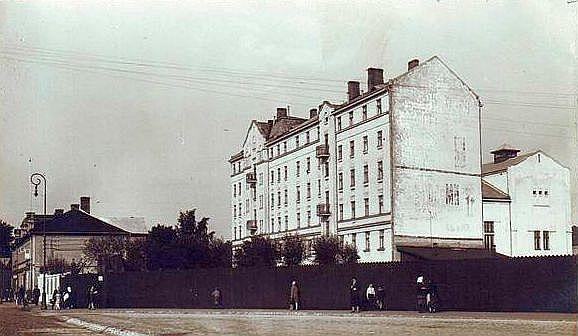 Igauņu biedrības ēka 20. gs. 20.–30. gados.