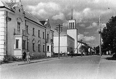 Rūjiena 20. gs. 30. gados.