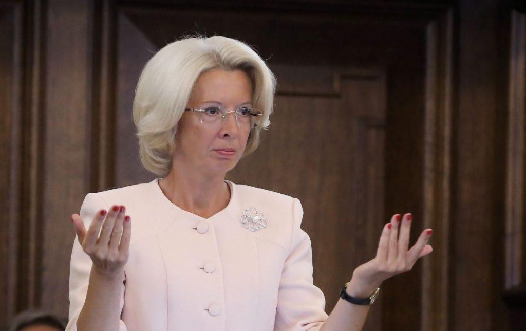 Saeimas priekšsēdētāja Ināra Mūrniece.