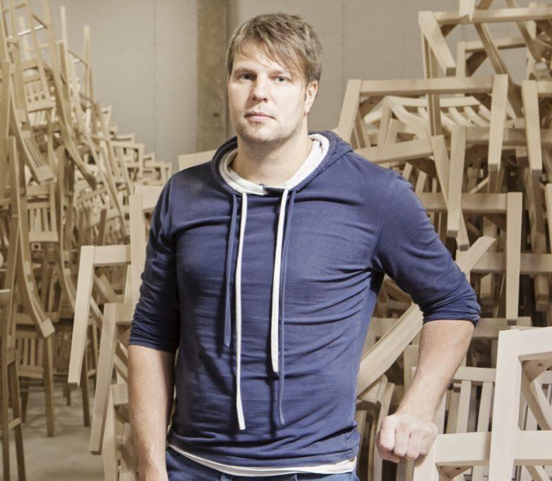 Uzņēmuma Wenden furniture īpašnieks Normunds Brēmers.