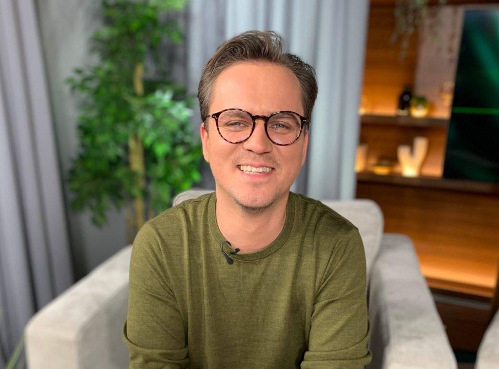 Mūzikas producents, ģitārists Kaspars Ansons.