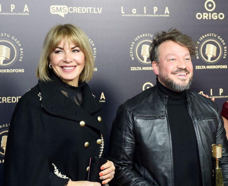 Mūziķi Jolanta Gulbe-Paškevica un Deniss Paškevics.